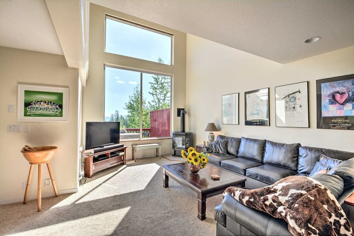 Townhome w/Glacier Park+Whitefish Mtn Resort Views