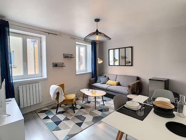 Appartement complet centre entièrement équipé