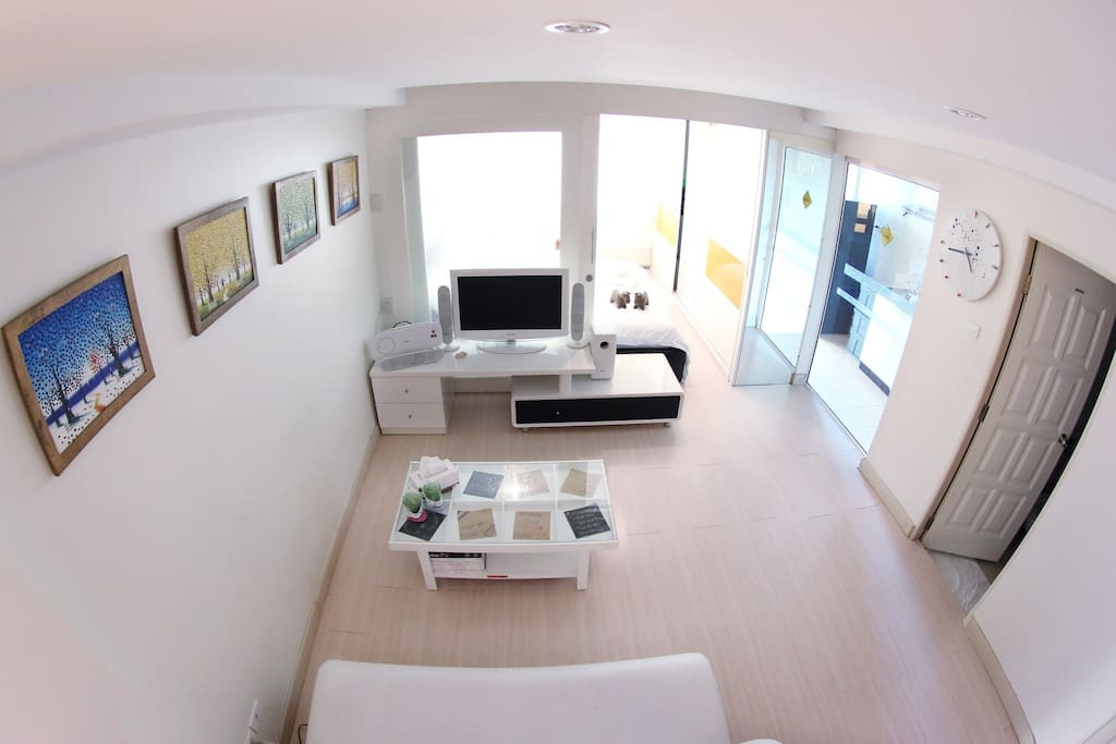 With...top view of my living room...;D