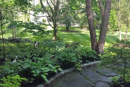 A bucolic spot close to downtown Baltimore - Baltimore - Townhouse