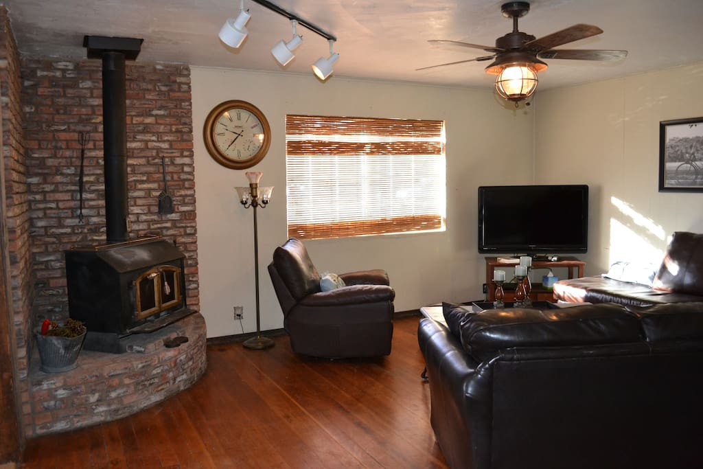 """Living Room-shared and comfortable with a 46"""" TV"""