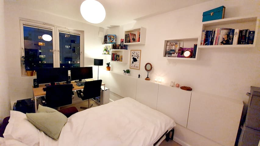 Fresh, cozy room in Sagene, Oslo - friendly hosts!