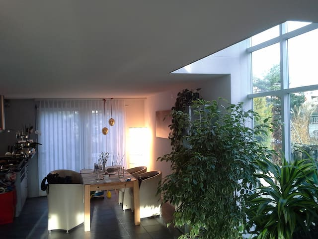 Sunny and quiet house, entire 3rd floor available - Köniz - House
