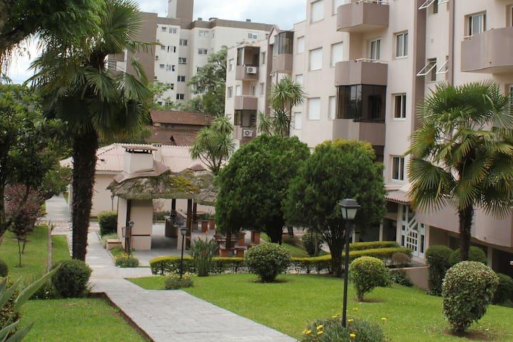 Apartamento com Ar Condicionado em Bento Gonçalves - Bento Gonçalves