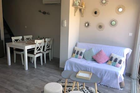 Villa dans résidence privée avec piscine 5min mer