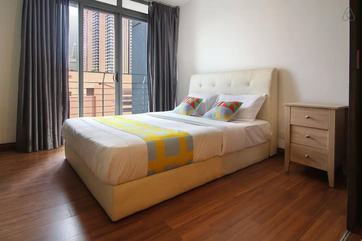 Taragon Puteri 1BR Home, Near Merdeka Square