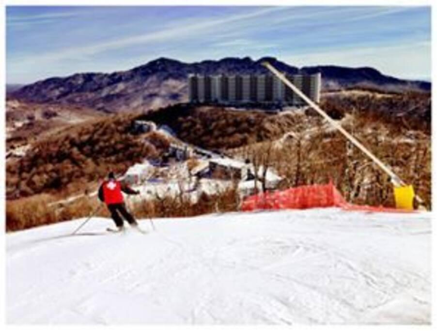 Ski Sugar Mountain.  What a view!