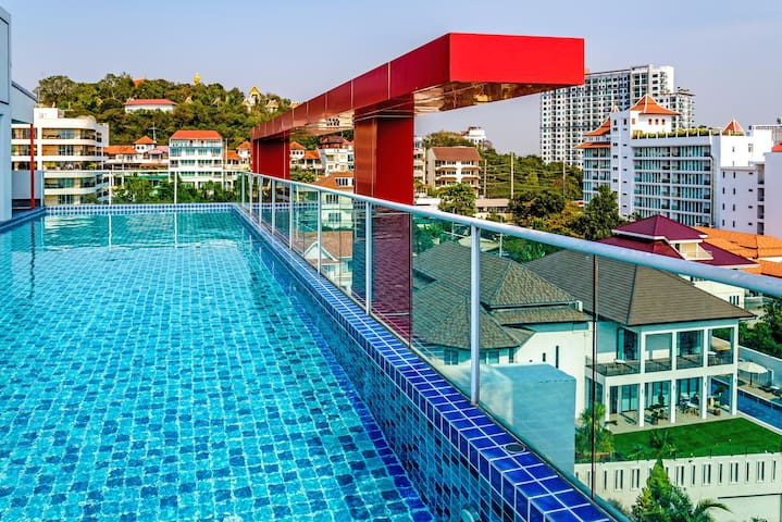 Art On The Hill One Bedroom Deluxe - Muang Pattaya - Apartment