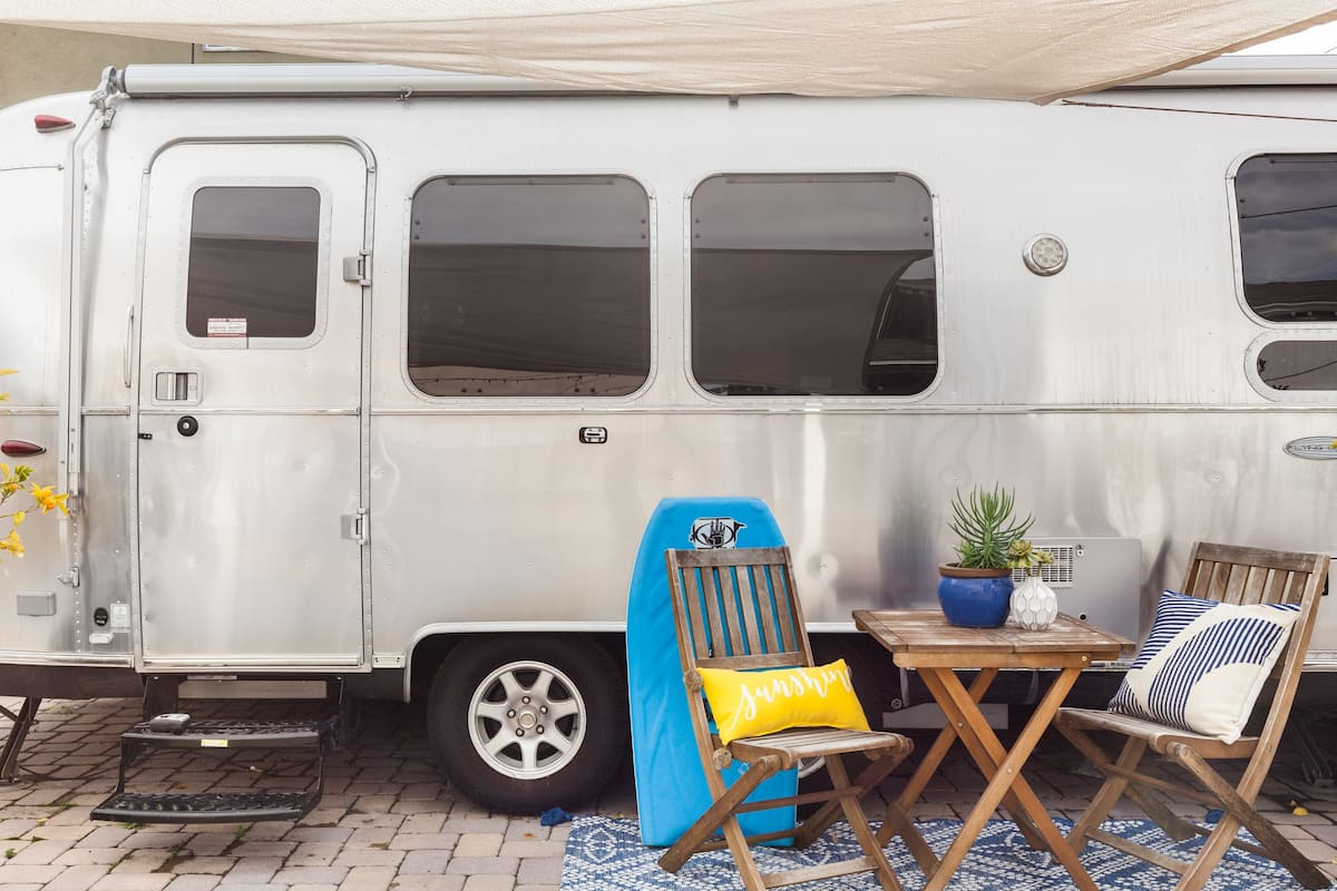 Head to Beverly Hills from a Stylish Airstream