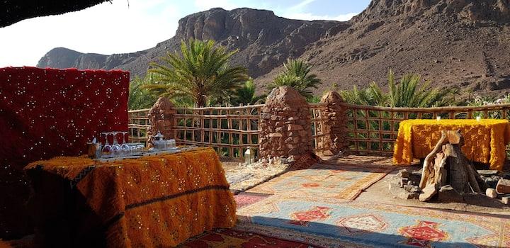 bivouac des aigles oasis de Fint ouarzazate