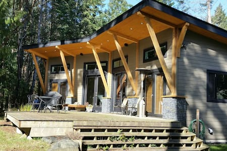 (Island get away) Executive cabin on a 1 acer lot. - Gabriola - Kabin