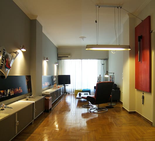 a stylish 75m2 apartment downtown