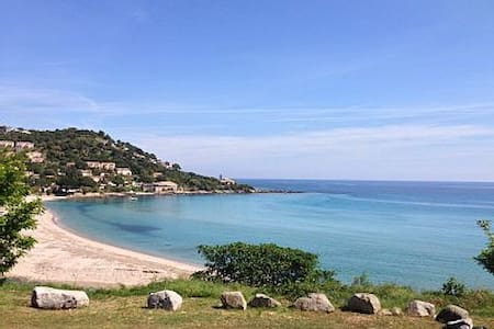 Location estivale, pieds dans l'eau - Conca - Ortak mülk