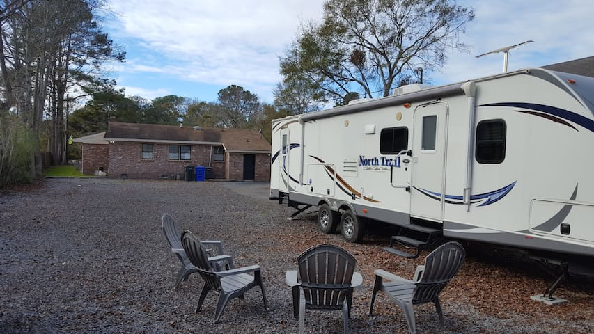Cool, Unique, & Affordable.  Experience RV Living!