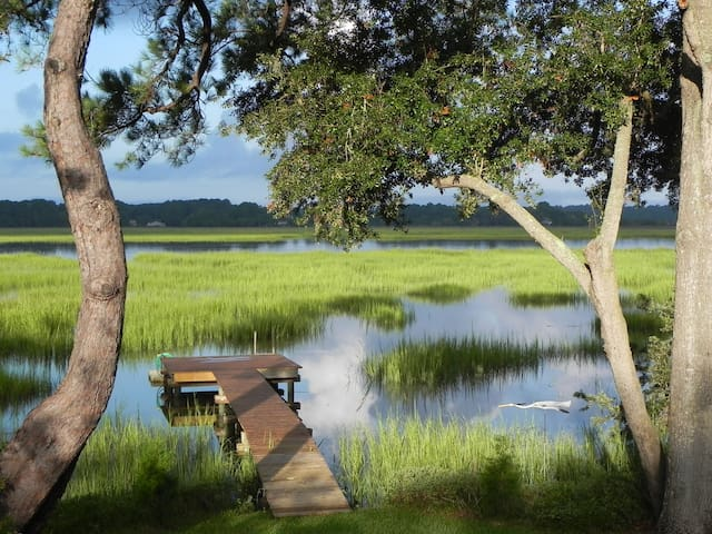 Waterfront Home with the Best View in Beaufort.