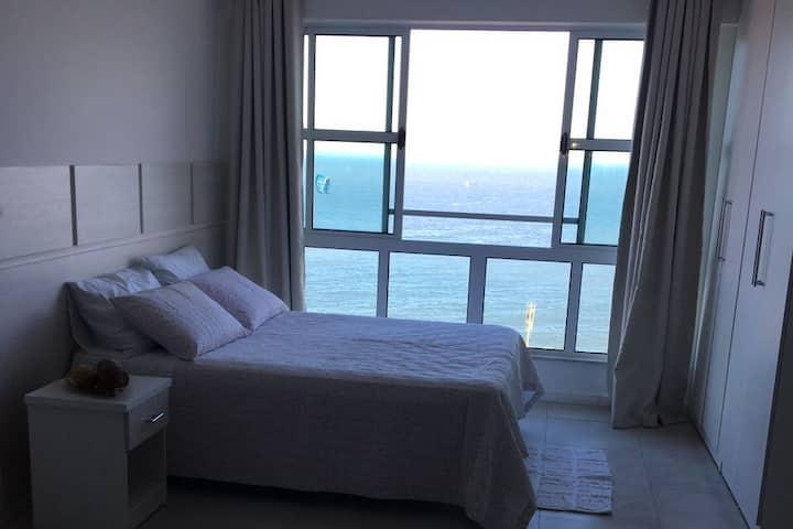 Lindo Loft com vista ao mar
