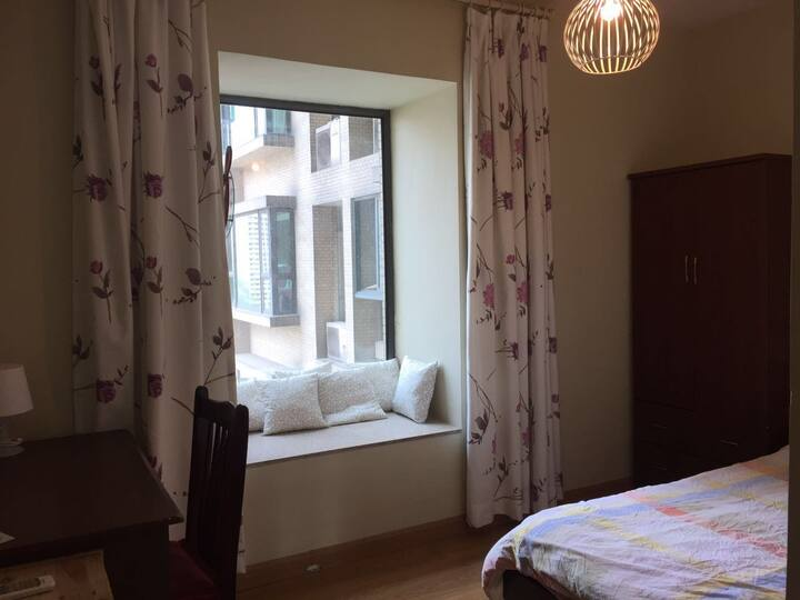 Private bedroom - IKEA Design 16th floor Downtown
