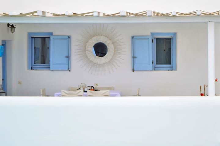 BLUE HEART MYKONOS