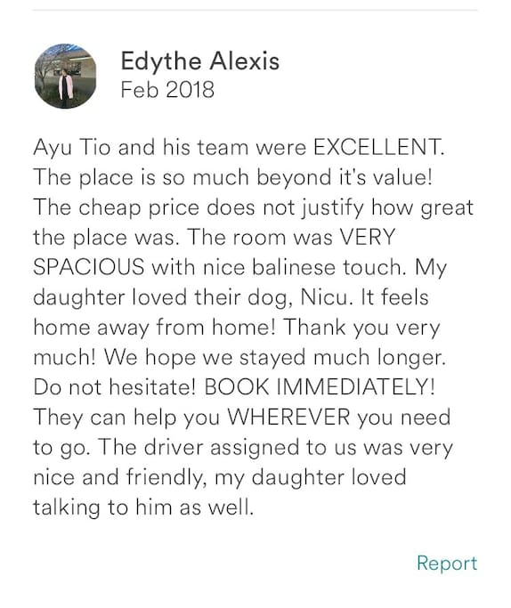 Newest guest review