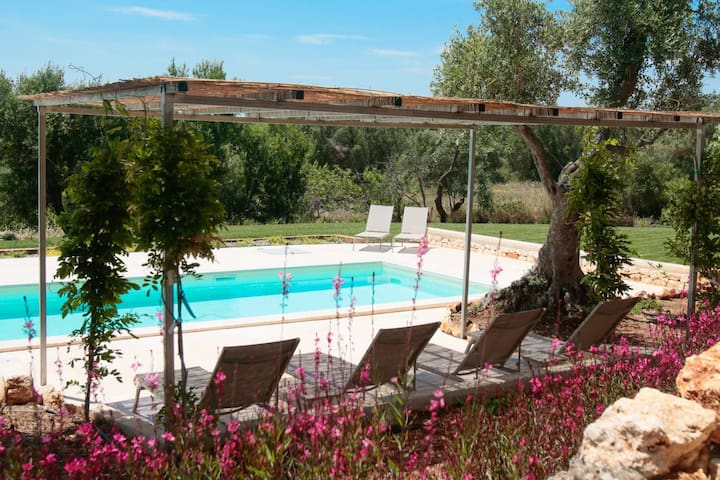 Luxury villa - private pool, views, bocce & Wi-fi