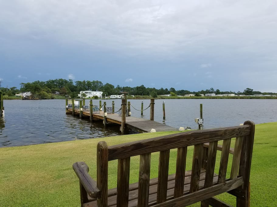 Dock your boat in-front of your room!  Boat ramp conveniently located right around the corner!