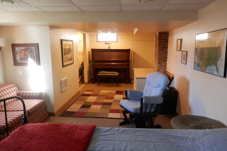 Cozy Basement Apt. with Private Entrance and Sauna - Hopkins