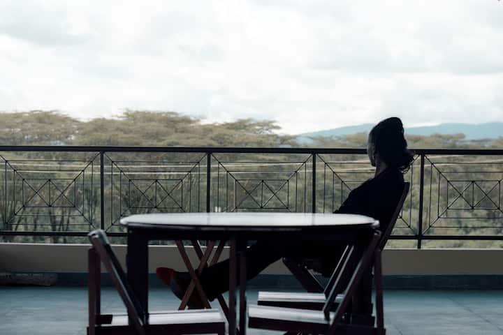 LaTerazza House in Lake Oloiden, Naivasha - Kenya
