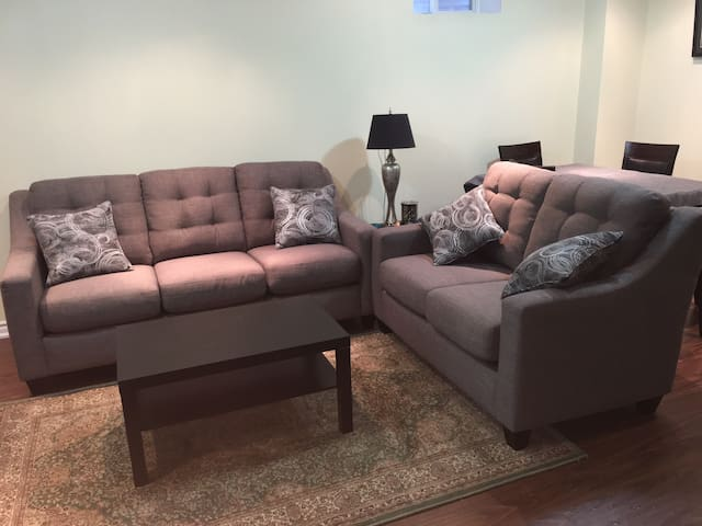 NEW Furnished Private Basement With Two Bedrooms