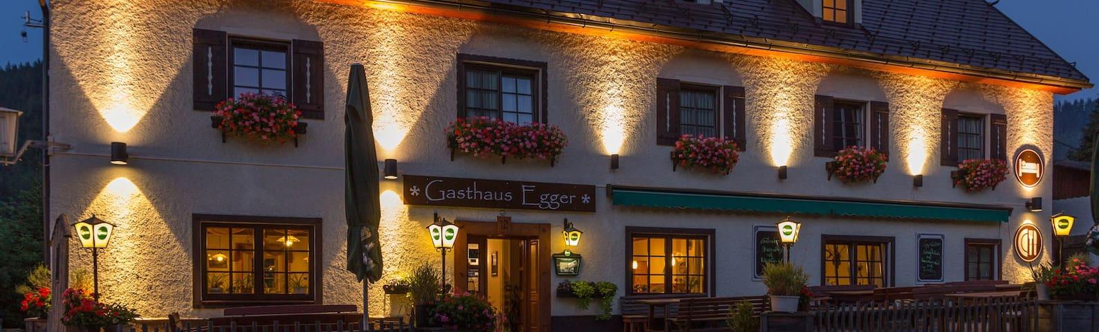 Gasthaus Gollrad Mariazell gut schlafen gut essen