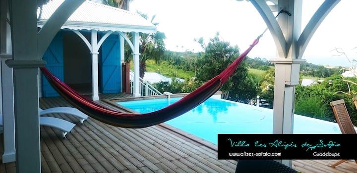 Villa premium avec piscine et magnifique vue mer