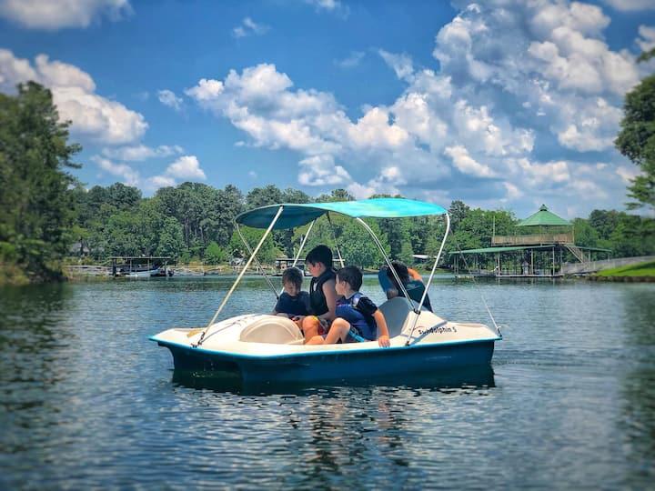 Smith Lake ALABAMA sleeps8+dock+firepit