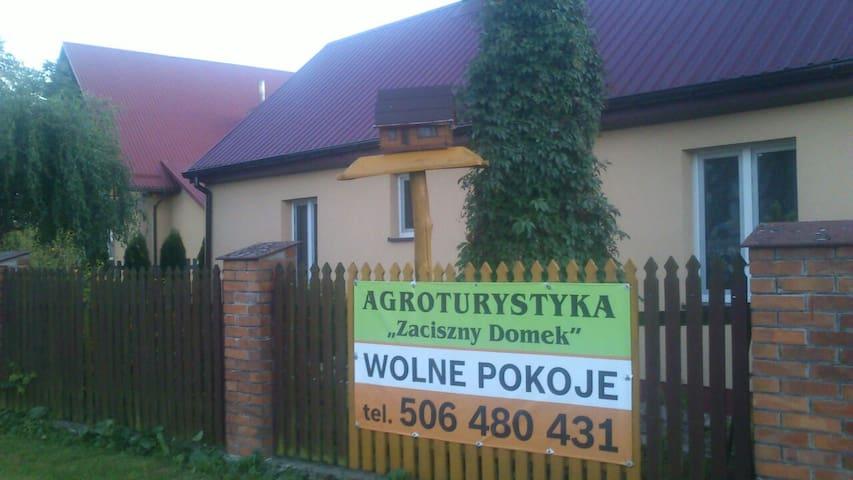 Peace-full house near Kazimierz Dolny