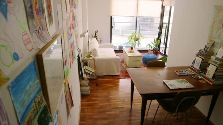 Comfy & Joyful flat in the best part of Montevideo