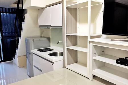 士林夜市3分鐘 捷運旁套房 Cozy Loft @ Shihlin - Shilin District - Apartment