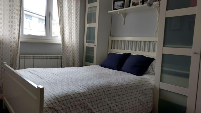 Habitación doble en piso compartido - Tapia de Casariego - Apartemen