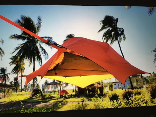 Flying Tent @ Ecovillage Sembrando Vida