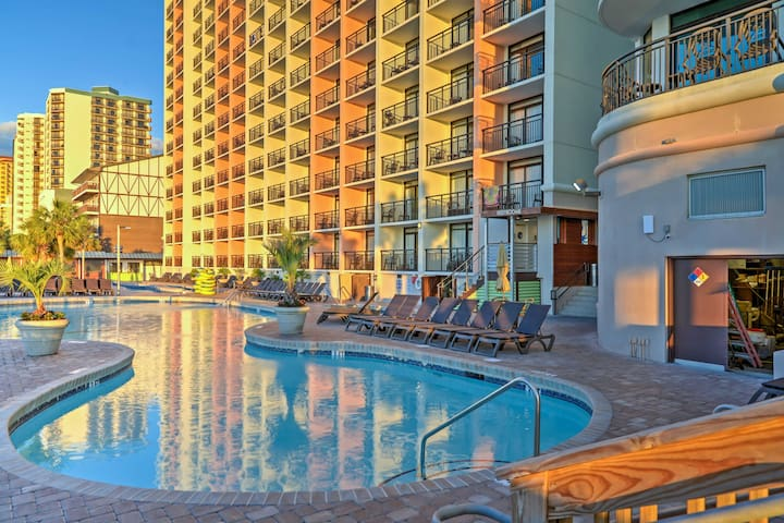 NEW! 1BR Myrtle Beach Resort Condo w/ Ocean Views!