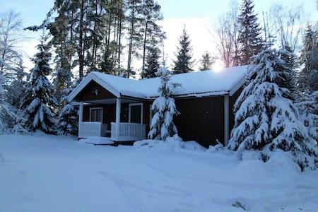 Haus mit Sauna auf einem Naturgrundstück - Dals-Ed S