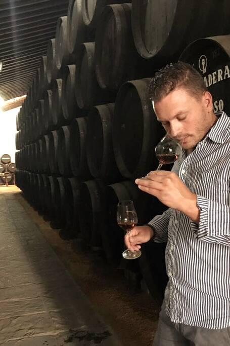 Tasting PX wine