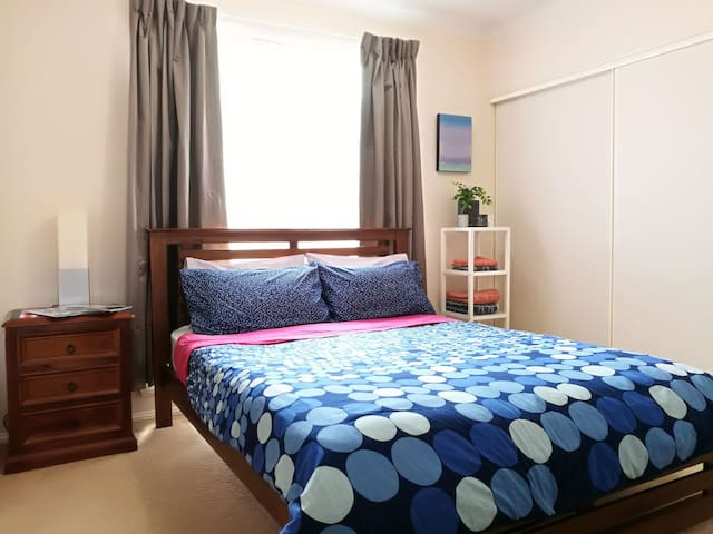 Spacious and tidy home with private guest area
