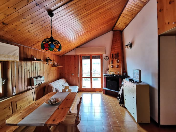 """TheCottage""between Roccaraso and Castel di Sangro"
