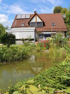 Fränkische Schweiz: Schöne große 3-Zimmer-Wohnung - Unterleinleiter - Apartment - 1