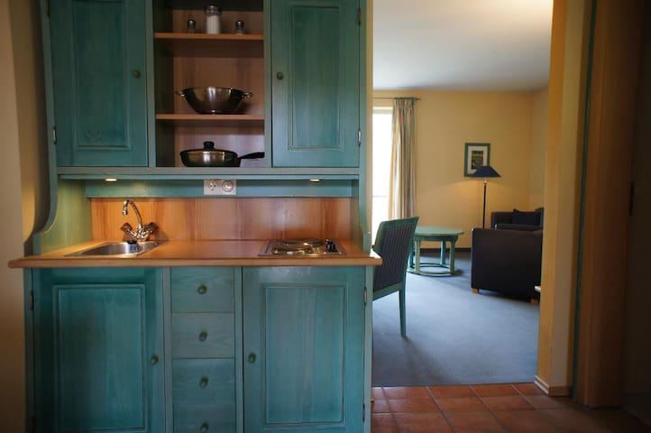 AngerResidenz, FeWo & Hotel (Zwiesel), Hotel-Suite (55qm) mit Balkon und Küchenzeile für 4 Personen inkl. Frühstück