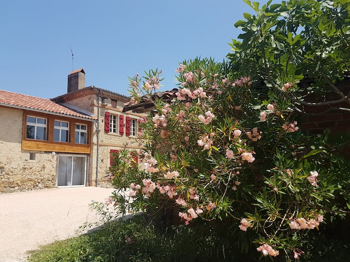 Chambre d'hôtes accessible vue sur les Pyrénées