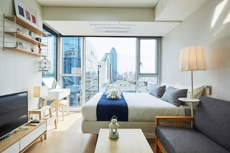 """Connected from Gangnam station """"Fosse's house"""" - Гангнам-гу - Квартира"""