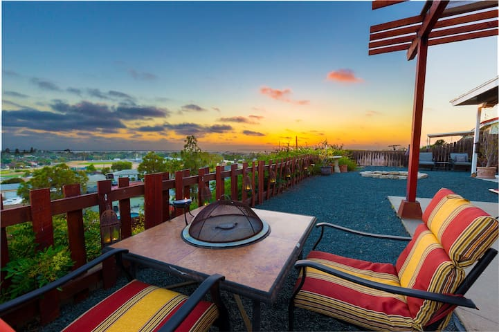 Charming place with Panoramic View! - Chula Vista - Hus