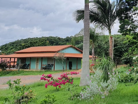 Entire house- Farm on the shores of Lake Furnas
