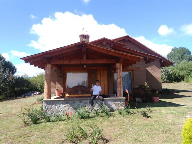 Linda cabaña ecológica en Pinares Tapalpa