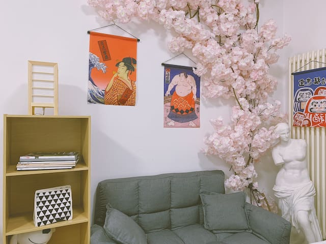 「日式网红民宿」传媒大学/三里屯/国贸 地铁1号线 月租5900