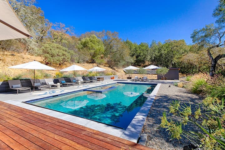 Private Sonoma House with Pool